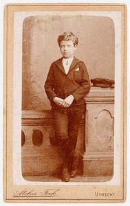 Portret van Gijsbert Carel Cornelis Jan van Lijnden (1882-1908)