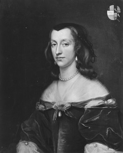 Portret van Cornelia Schaep (1628-1666)