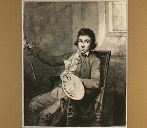 Portret van de kunstenaar Abraham van Strij II (1790-1840) (?)