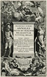 Titelpagina voor F. Van Haer, Annales Ducum Seu Principum Brabantiae Totiusque Belgii, I-II, Antwerpen 1623