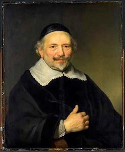 Portret van  Augustijn Wttenbogaert (1577-....) [?]