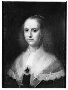 Portret van en vrouw, ten onrechte geïdentificeerd als Stephania Torck (    -1702)