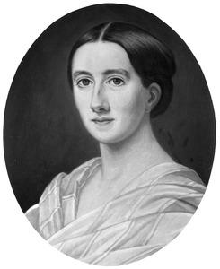 Portret van Jonkvrouw Marie Isabelle Anne Josine Charlotte Huydecoper (1835-1919)