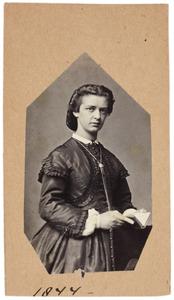 Portret van Theodora Emerentia van Dam (1844-1936)