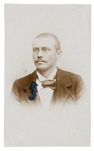 Portret van Jacobus Donkersloot (1894-1937)