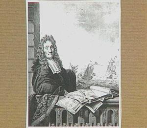 Portret van de zeeschilder Ludolf Bakhuizen I (1630-1708)