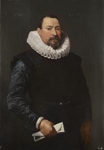 Portret van een onbekende 57-jarige man