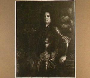 Portret van Antonie Mestral (?-1722), Zwitsers kolonel