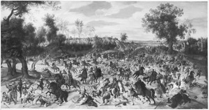 De strijd tussen Bréauté en Leckerbeetje op de Vughterheide, 5 februari 1600