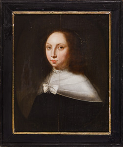 Portret van Ermgard Elisabeth van Dorth (1601-1644)