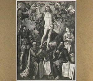 Christus als Salvator Mundi (Altaar van de Oude Voetboog)