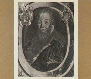 Portretminiatuur van een man, waarschijnlijk Gerrit Hendricksz. Stuyver (1528-1600)