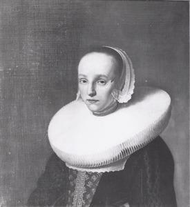 Portret van Anna van der Does (1609-1650)