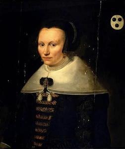 Portret van Anna Dircksdr. van Bleyswijck (1603-1688)