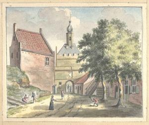 De Hezelpoort te Nijmegen van de stadszijde
