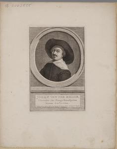 Portret van Jan van der Heyden (1637-1712)