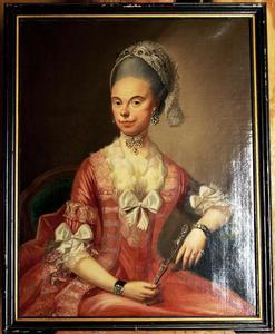 Portret van Wilhelmina Elisabeth Mechteld Vijfhuis (1748-1835)