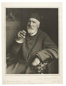 Portret van Harmen Hendrik van de Poll (1832-1919)