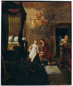 Het gebed van Tobias en Sara voor hun huwelijksnacht