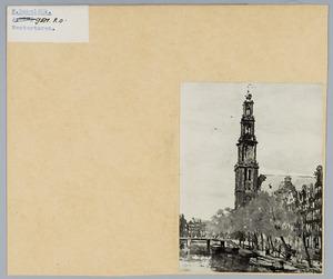 De Westertoren te Amsterdam