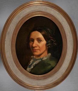 Portret van Hinke Dirks Brouwer (1809-1863)