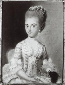Portret van Gouda Suzanna Marcelis (1754-1775)