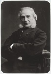 Portret van David Bles (1821-1899)