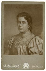 Portret van Sara Johanna Maria Gregory (1878-1901)