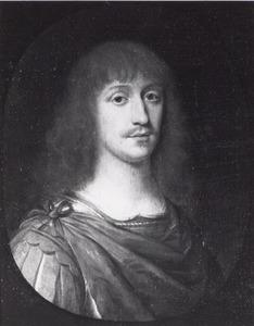 Portret van een man in kostuum à la romaine