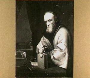 Een oude geleerde