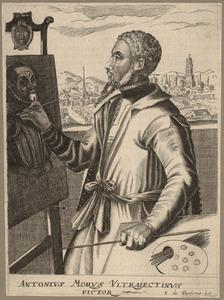 Portret van Antonio Moro (1519-1575)