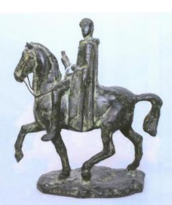 Model voor het standbeeld van Gnaeus Domitius Corbulo