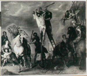 Het martelaarschap van de H. Philippus aan het kruis