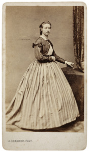 Portret van Elisabeth Louise Cornélie Pichot Lespinasse (1846-1931)