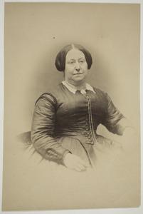 Portret van Sara Antonia van Kerkwijk (1825-1889)