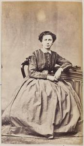Portret van een vrouw uit familie Jellema