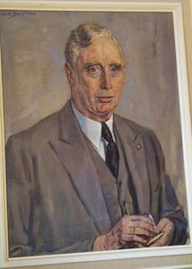 Portret van W.L. Morsink