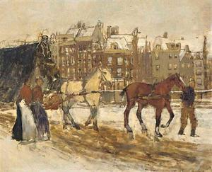 Het Rokin te Amsterdam