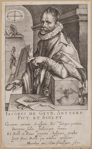 Portret van Jacob de Gheyn II (1565-1629)