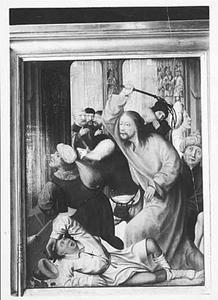 Christus verjaagt de wisselaars uit de tempel