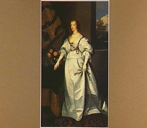 Portret van koningin Henriëtte Maria de Bourbon (1609-1669), koningin van Engeland