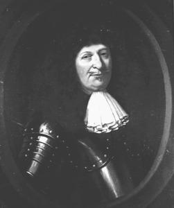 Portret van Carel Rabenhaupt (1602-1675), luitenant-generaal, baron van Sucha