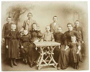 Portret van familie Sieperda