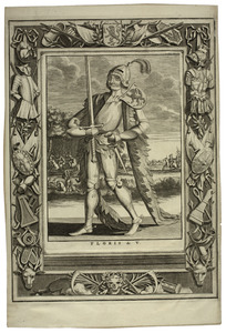Portret van Floris V van Holland (1254-1296)