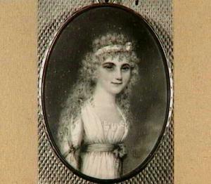 Portret van Johanna Bernardina Elisabeth Eilbracht (1777-?)