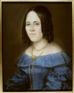 Portret van Johanna Maria Martha van Walraven (1812-1874)