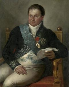 Portret van Isaac Jan Alexander Gogel (1765-1821)