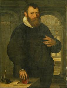 Portret van Bartholomeus van der Wiere ( -1603)