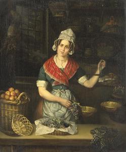 Fruitverkoopster