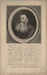 Portret van Samuel Bartoldi (1573/74-1640)